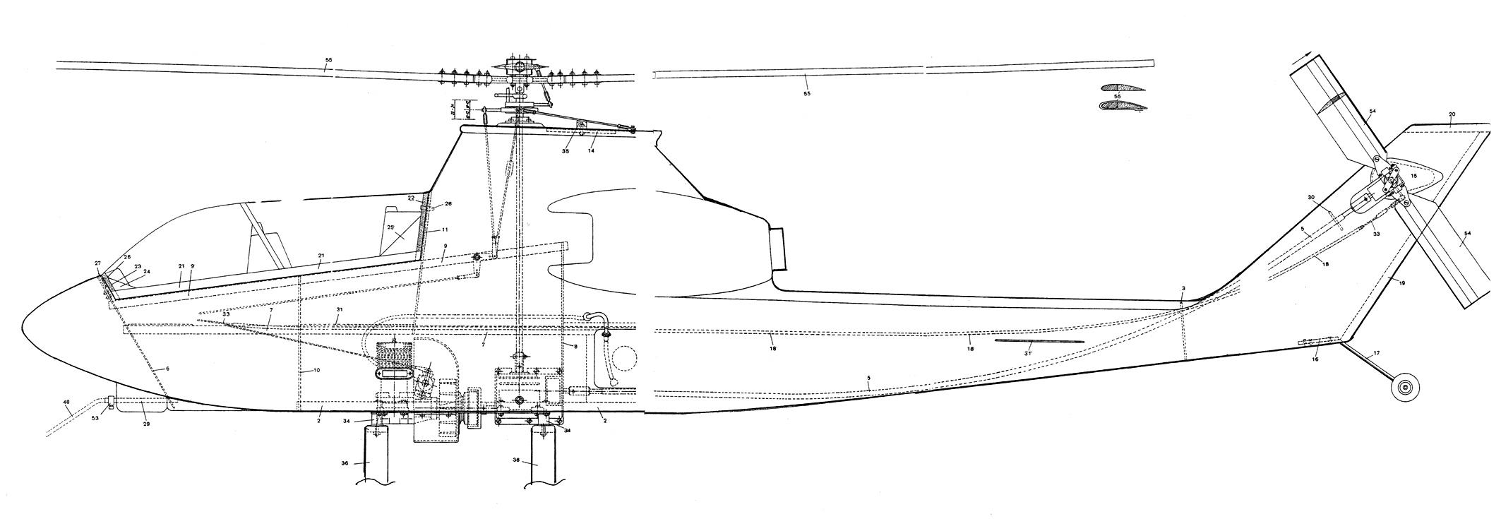 Чертежи вертолётов своими руками